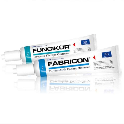 Thuốc bôi trị viêm da cho chó mèo Alkin Fabricil Fungikur