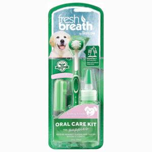 Bộ vệ sinh răng miệng cho chó con TropiClean Puppy Oral Care Kit
