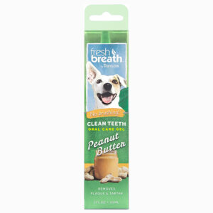 Gel trị mảng bám răng cho chó TropiClean Peanut Butter