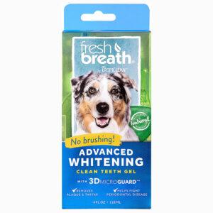 Gel vệ sinh răng miệng cho chó mèo TropiClean Whitening Teeth
