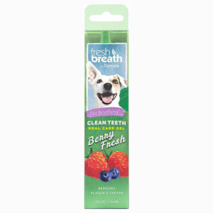 Gel vệ sinh răng miệng cho chó TropiClean Clean Teeth Berry Fresh