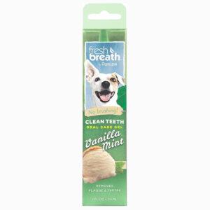 Gel vệ sinh răng miệng cho chó TropiClean Vanilla Mint