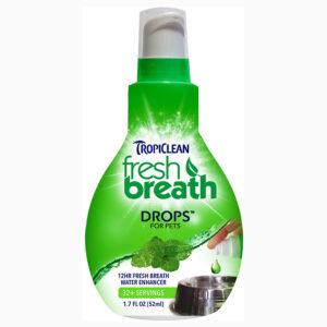 Nước khử mùi hôi miệng cho chó mèo TropiClean Fresh Breath Drop