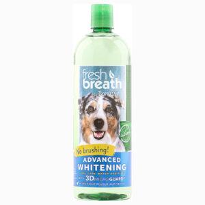 Nước vệ sinh răng miệng cho chó mèo TropiClean Whitening
