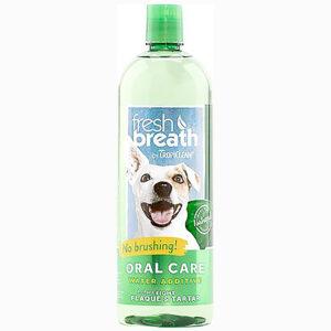 Nước vệ sinh răng miệng hàng ngày cho chó mèo TropiClean