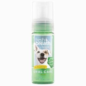Xịt bọt khử mùi hôi miệng cho chó mèo TropiClean Fresh Breath Mint Foam