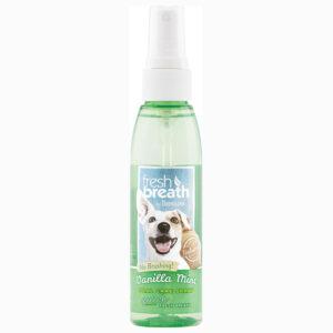 Xịt khử mùi răng miệng cho chó TropiClean Vanilla Mint Spray