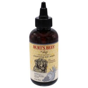 Nước vệ sinh tai cho chó Burt's Bees Care Plus Charcoal & Coconut Oil