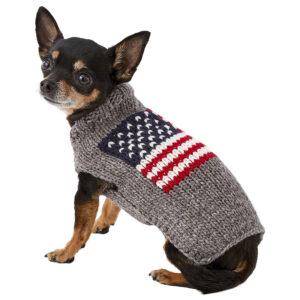 Quần áo cho chó mèo Chilly Dog American Flag