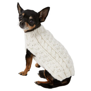 Quần áo cho chó mèo Chilly Dog Natural Cable