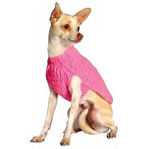 Quần áo cho chó mèo Chilly Dog Pink Cable