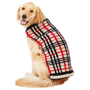 Quần áo cho chó mèo Chilly Dog Tan Plaid