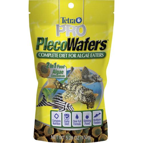 Thức ăn cho cá cân bằng dinh dưỡng Tetra PRO PlecoWafers Complete Diet for Algae Eaters  Thuc-an-cho-ca-can-bang-dinh-duong-tetra-pro-plecowafers-complete-diet-for-algae-eaters-500x500