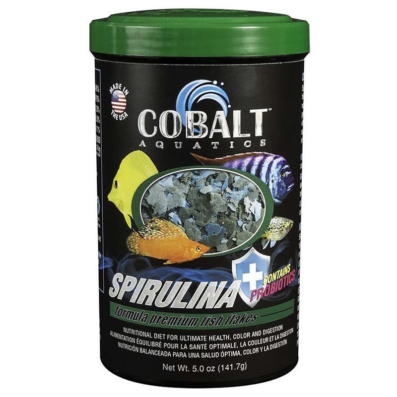 Thức ăn cho cá Cobalt Aquatics Spirulina hỗ trợ tiêu hóa  Thuc-an-cho-ca-cobalt-aquatics-spirulina-flakes